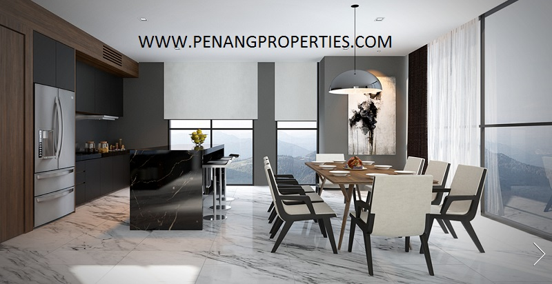 The penthouse the penthouse is located in tanjung bungah penang