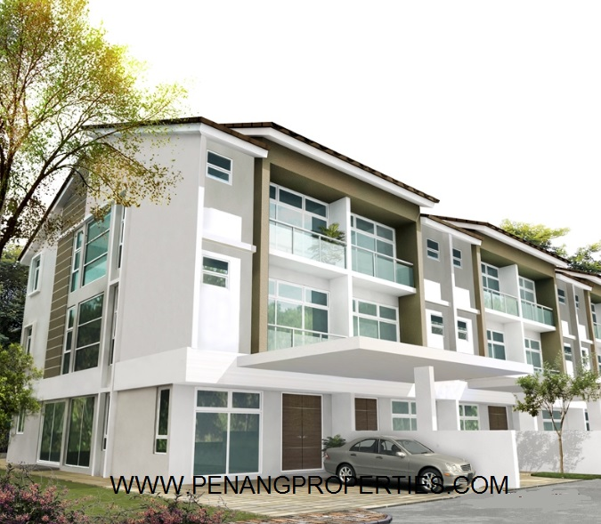 shineville villas air itam for sale and rent penang
