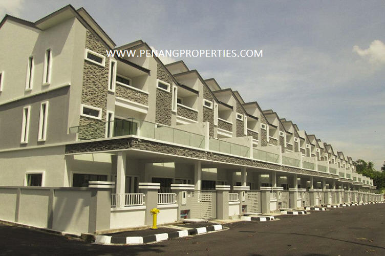 South home terrace house in bayan lepas penang malaysia for Terrace 9 penang