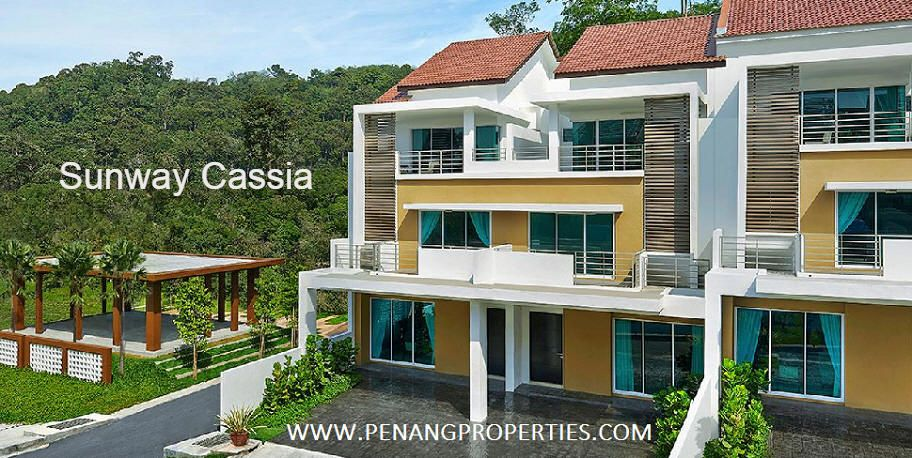 Sunway Cassia is a modern 3-storey terrace house in Batu